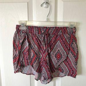 Flowy hollister shorts